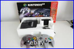 Nintendo 64 Console Complete CIB Boxed + 2 OEM Controllers // Ships from Canada