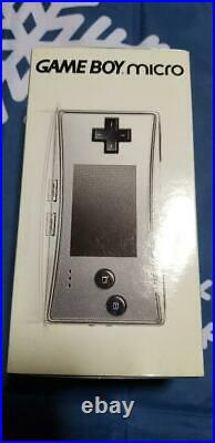 Nintendo Game Boy Advance Micro Silver complete product from jAPAN