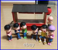 OSOMATSU SAN Chibita mini figure ships from Japan complete set brothers rare