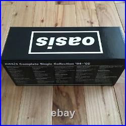 Oasis Complete Single Collection'94-'05 CD Box Limited From JAPAN