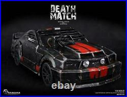 Oversized 80cm Metal Death Race Ford Mustang Completed 1/6 Figure From Japan