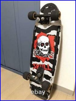 POWELL PERALTA Skateboard Complete Deck SKULL Used Imported from Japan