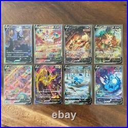 Pokemon Card Eevee Heroes V SR (SA) 8 Type Complete Set S6a Japanese From JP