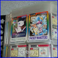 Pokemon Cards Japanese Carddass Complete 151 Set 1997 withcard file From JAPAN