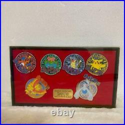 Pokemon Center Limited Millennium 2000 Badge Set Pin Complete Vintage from Japan