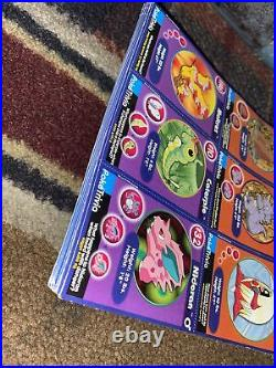 Pokémon Movie Cards From Burger King Complete Set 1-20 Pre Owned