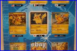 Pokemon World promo Pikachu collection 2010 Complete set from japan