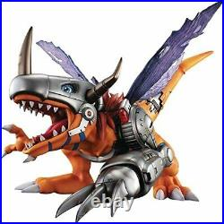 Precious GEM Series Digimon Adventure MetalGreymon Complete Figure F/S From JPN