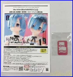 Pure Neemo Character Series 128 ReZERO Rem Complete 1/6 Doll Figure From Japan