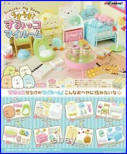 Re-Ment Kawaii SUMIKKO GURASHI Miniature Sumikko MY ROOM complete set from JAPAN