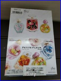 Re-Ment Pokemon Petite Fleur 2 Full Set 6 Complete From Japan Pikachu Umbreon