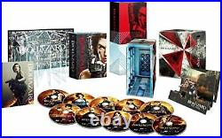 Resident Evil Ultimate Complete Box Blu-ray Free Ship withTracking# New from Japan