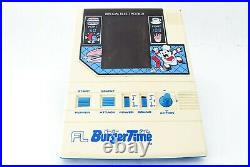 Retro game complete product Bandai Burgertime Made in 1983 From Japan