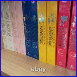 Sailor Moon DVD-Collection TV-series Complete 5-season Super Rare from Japan F/S