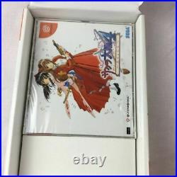 Sakura Taisen Complete Box Disc DC Sega Dreamcast from Japan Video Game