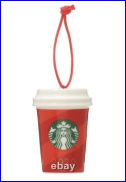 Starbucks Holiday 2020 Limited Edition 5type Complete Ornaments From JPN NEW LTD