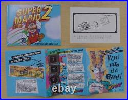 Super Mario Bros 2 (NES Nintendo) Complete In Box From Japan