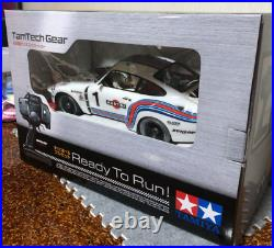 TAMIYA MARTINI PORSCHE 935 TURBO TamTech-Gear Completed model 1/12RC From Japan