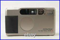 Test shot completed Contax T2 35mm f/2.8 Film Camera from JAPAN by DHL #1680