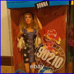Vintage 1991 MATTEL Beverly Hills 90210 Complete Set 5 Dolls NRFB From Japan