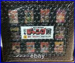 Weekly Shonen Jump 50th Anniversary Limited Pins Complete Set from Japan F/S
