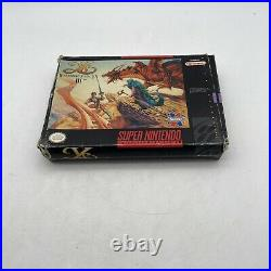 Ys III Wanderers From Ys Complete SNES Super Nintendo Complete Authentic Tested