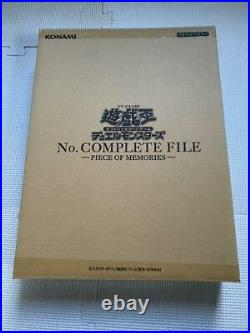 Yu-Gi-Oh Duel Monsters No. Complete File -Piece Of Memories Ltd NEW From Japan